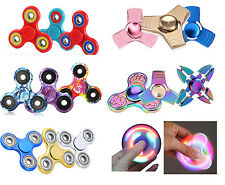 CHEAPEST Fidget Spinner Collection Hand Focus Fun Toys Spin Stress UK SELLER