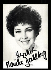 Monika Dahlberg Autogrammkarte Original Signiert # BC 58180