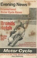 1970 25 MAY 25685  Brands Hatch EVENING NEWS INTERNATIONAL MOTOR CYCLE RACES