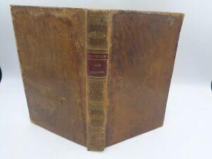 Ginouvier Tableau de l'intérieur des prisons de France 1824 + De Philadelphie