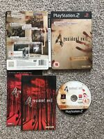 RESIDENT EVIL 4 LIMITED EDITION STEELBOOK TIN SONY PLAYSTATION 2 PS2 GAME UK PAL