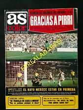 REVISTA AS COLOR 332 REAL MADRID-ATH.BILBAO-ITALIA-BARCELONA-AT.MADRID-TENIS