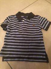 T Shirt Polo Garçon  Taille 18 / 24 Mois 2 Ans  90 Cm Comme Neuf Gap