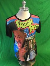 Vintage 80's King Fresh Prince Of Bel air Tv  Show Rapper Large  T Shirt