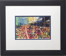 "LeRoy Neiman ""New York Marathon 1987"" Newly CUSTOM FRAMED Print Manhattan CITY"