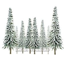 """JTT Scenery Products Snow Spruce Tree O-Scale 6"""" - 10"""" Super Scenic, 12/pk 92008"""
