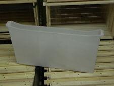 Futtertasche ZANDER Kunststoff,weiss, 3,5cm breit (1 Rähmchen)Imker,Imkerei,bee