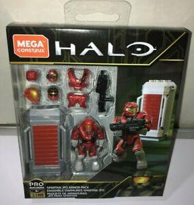 Mega Construx Halo Spartan JFO Armor Pack GLB66 Building Set NEW MINIFIGURE