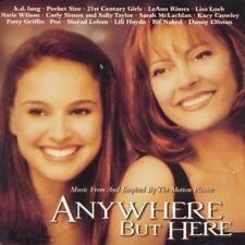 ANYWHERE BUT HERE! SOUNDTRACK CD! SARAH McLACHLAN! K.D. LANG! LeANN RIMES! L@@K!