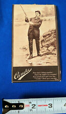 Candee Rubber Boots Advertising Business Trade Card Fishing Pole Photo Early