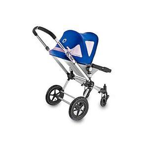 Bugaboo Cameleon stroller Breezy Sun canopy canvas Blue NEW IN BOX