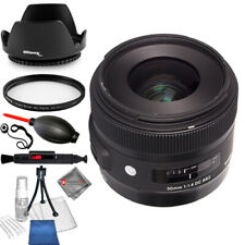 Sigma 30mm f/1.4 DC HSM Art Lens for Sony UV Filter Bundle - AUTHORIZED DEALER