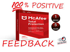 McAfee Total Protection 2020 🔥 Antivirus License Key 🔥 5 Years 🔥 1 PC Windows