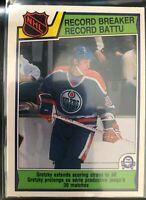 1983-84 O-Pee-Chee Wayne Gretzky Card #212 Record Breaker