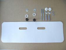 Hass Schallschutz- Set 750x240mm und Befestigungssatz für Waschbecken/Waschtisch