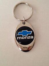Chevrolet Monza Keychain Chrome key chain Chevy