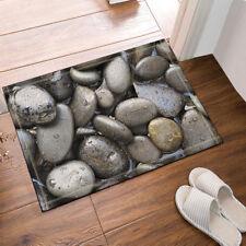 Door Mat Bathroom Rug Bedtoom Carpet Bath Mats Rug Non-Slip pebbles 40*60cm