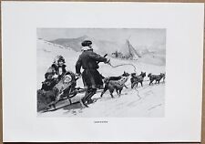 RUSSIA: SAMOYEDS; lithograph, 1913 (#85)