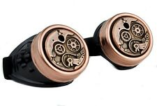 Brass Steampunk Goggles Cog Time Instrument Glasses Cosplay Halloween Cyber Goth