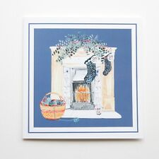 Queen Mother's Clothing Guild Charity 10 Fireplace Christmas Cards