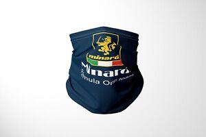 Minardi F1 Formula One Inspired Cotton Snood - Handmade in UK