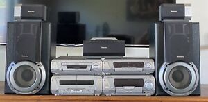TECHNICS EH750 - Vintage Surround HIFI with remote and manual