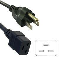 HQRP AC Power Cord for Canon PIXMA MX722 MX712 MX700 MX522 MX512 MX360 MX350 Printer Mains Cable HQRP Euro Plug Adapter
