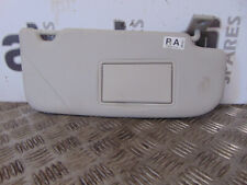 # NISSAN QASHQAI DRIVERS SIDE FRONT SUN VISOR (SOME MARKS)