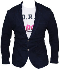 New  G-Star Raw Mens Omega Sweat Blazer/Jacket in Rinsed Navy Colour Size 52