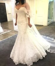 Mermaid Enzoani Wedding Dress Size 8-12