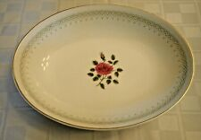 "New ListingRoyal Doulton Sweetheart Rose 9"" Oval Vegetable Bowl Excellent"
