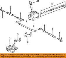 FORD OEM Steering Gear-Inner Tie Rod End 2L3Z3A130DA