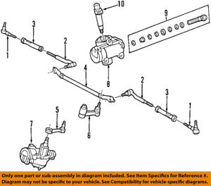 FORD OEM Steering Gear-Idler Arm 1L3Z3350AB