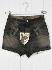 Hot Pants Wet look, Shiny Mid Rise Shorts for Women