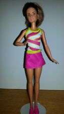Barbie Fashionistas Doll Brown Light Hair With Freckles Mattel