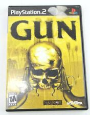 Gun (Sony PlayStation 2, 2005) Used Complete PS2