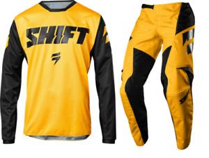 SHIFT 2018 whit3 label 97 mx kit - yellow/ black