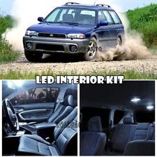 For 94-03 Subaru Legacy Outback Interior White LED Xenon Light Bulb Full Kit 6pc