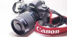 LENTE 500mm = 750mm su Canon Digital 400D per la fotografia della fauna selvatica 1200D 5D 6D EOS