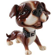 "Little Paws ""Stan"" Staffy Staffordshire Terrier Pitbull Dog Figurine 4.5"" High"