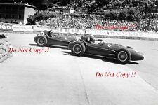 Luigi Musso & Mike Hawthorn Ferrari Dino 246 Monaco Grand Prix 1958 Photograph 2
