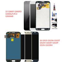 For Samsung Galaxy S5 G900 i9600 S6 G920A G920T S7 G930F LCD Display Screen  US