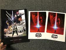 STAR WARS Japan cinema PROGRAM pressbook flyer SET Episode 8 The Last Jedi REY