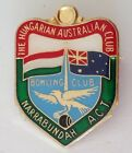 The Hungarian Australian Bowling Club Badge Narrabundah ACT Pin Vintage (M12)