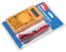 Multimètre numérique Testeur électrique tension circuit LCD Multi compteur