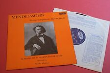 RG 467 Mendelssohn String Symphonies 9,10,12 St Martin Marriner ARGO UK LP