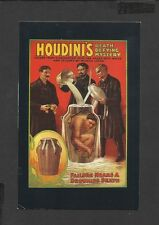 Nostalgia Postcard Ehrich Weiss Houdini's Death Defying Mystery
