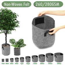 1-30 Gallon Breathable Non-Woven Grow Bag Nursery Plant Pot Gardening Supplies