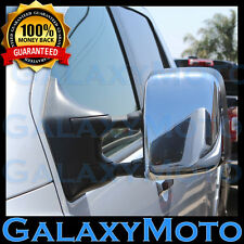 Triple Chrome Towing Mirror Cover 1 pair for 05-15 Nissan Armada+Titan 2005-2015