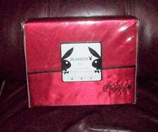 Playboy Home Satin Sheet Set, Twin Size, Never out of Package, 2010